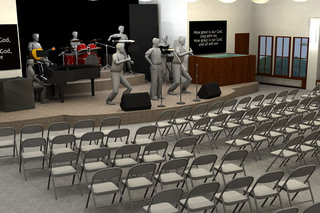 Ball State Christian Campus House Stage Renovation thumbnail
